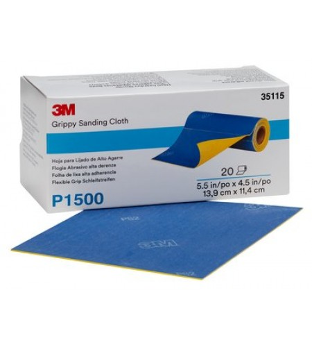35110 Гибкий абразивный  лист в рулоне 137,5х112,5 мм Р400