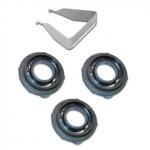 127399/79905 Набор из 3-х уплотнительных колец для SATA minijet