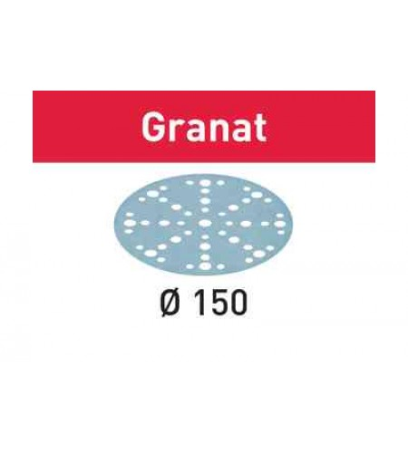575168 Мат.шлиф. Granat P240, компл. из 100 шт.  STF D150/48 P240 GR/100