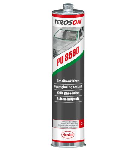 Клей для вклейки стекол TEROSON® PU 8590, черный, 310 мл