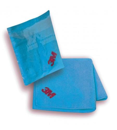 50486 Салфетка ультра-мягкая голубая в индивидуальной упаковке