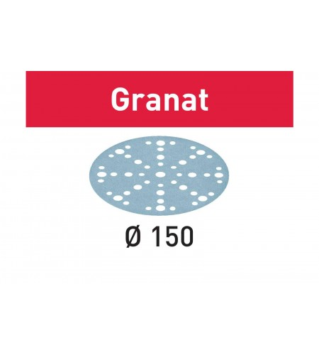 575176 Мат.шлиф. Granat P1200, компл. из 50 шт.  STF D150/48 P1200 GR/50