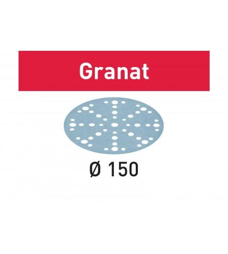 575177 Мат.шлиф. Granat P1500, компл. из 50 шт.  STF D150/48 P1500 GR/50