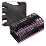 90.2200.10Д Перчатки нитриловые черные Магнум Диаманд   ХL 0,24 мм (50 пар)