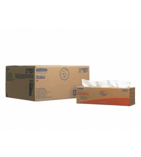 7461.070 Салфетка Вайпол L40 (белая) коробка, 1 слой (41,5*25см*100шт)
