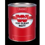 560953 Лак матовый Wanda 830 Clear Matt 1 л.