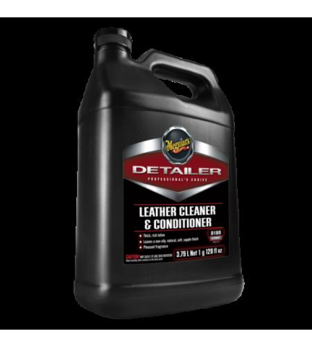 D18001 Очиститель и кондиционер для кожаных изделий Leather Cleaner Conditioner 3,785л. 1/4