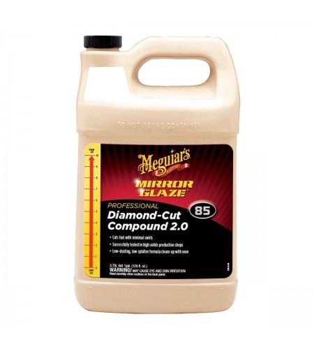 M8501 Высокоабразивный одношаговый полироль Diamond-Cut Compound 3,785л. 1/4