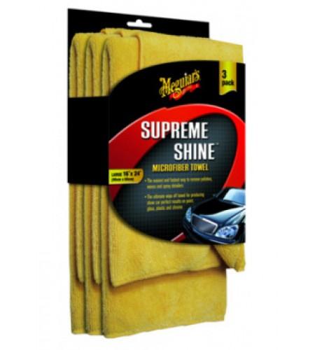 X2020 Микрофибровая салфетка Supreme Shine Microfiber Towel 40x60см, 3 шт./уп.