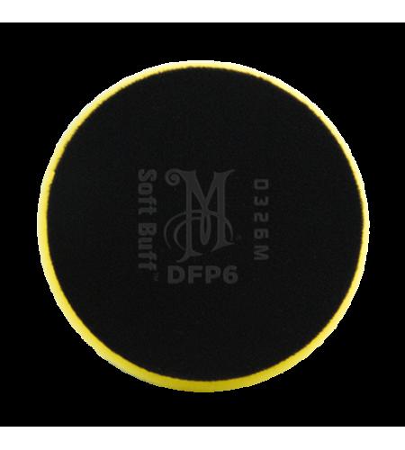 WRFP7 Полировальник поролоновый полирующий (желтый) Rotary Foam Polishing Pad 178мм, 1/6