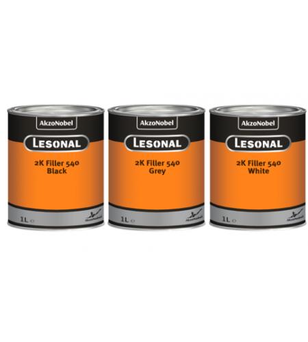 376875 Грунт-выравниватель Lesonal 2K 540 Grey  /3л
