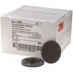 07516 Зачистной круг  Scotch-Brite™ Roloc™ Roloc D50мм, серый