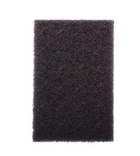 07446 Скотч-брайт лист темно-серый, зерно - среднее 158х224мм /20 шт.
