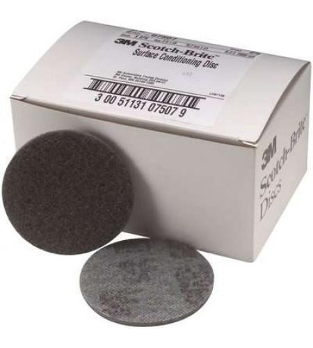 65336 Круг SC-DH скотч-брайт для доводки поверхности БОРДОВЫЙ A MED 125мм /20
