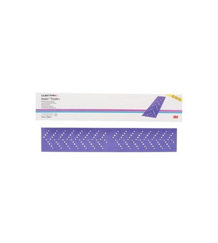 30619 Абразивные полоски Hookit Purple+ 3M334U, 70x396мм, Р180