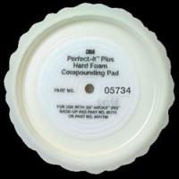 05734 Полировальник для абразивной пасты (закругл.) D=203мм