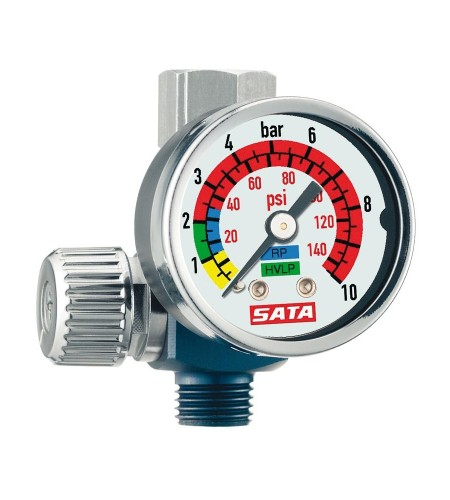 27771 Манометр SATA 0-845 с регулятором давления