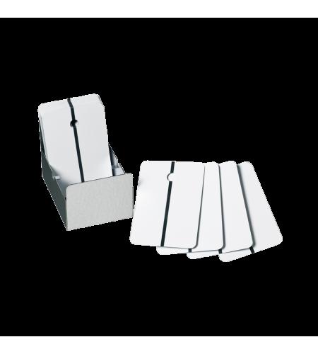 9315 Тест-пластины д/нанесения краски, белые Colad