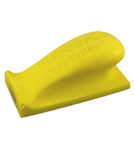 05442 Мягкий шлифок желтый 70х125 (без липучки)