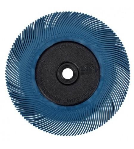 33058 Щетка радиальная BB-ZB 150мм тип С P400 синяя