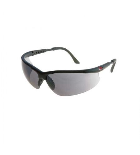 2751 Очки защитные поликарбонатные, открытого типа, цвет - дымчатый