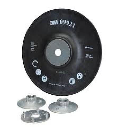 09921 Оправка для фибровых кругов 180мм ребристая M14 и 5/8
