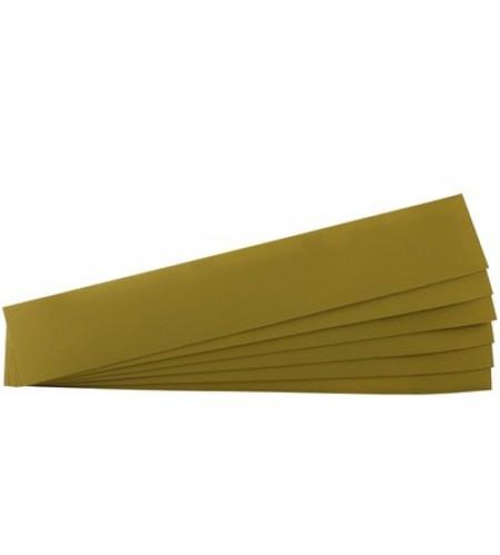 03591 Полоски для длинных шлифков Hookit 70х425 Р 80 золотистая