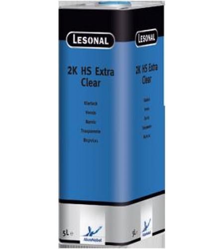 376895 Прозрачный лак Lesonal 2K HS Extra Clear /5 л