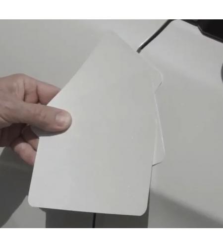 Тест пластины  для напыления бумажные