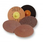 22398 Фибровый круг Roloc™ 361F   Р 36, 50мм  (коричневый)