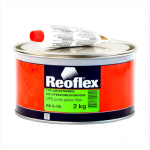 Шпатлевка GLASS (стекловолокно) 2 кг REOFLEX