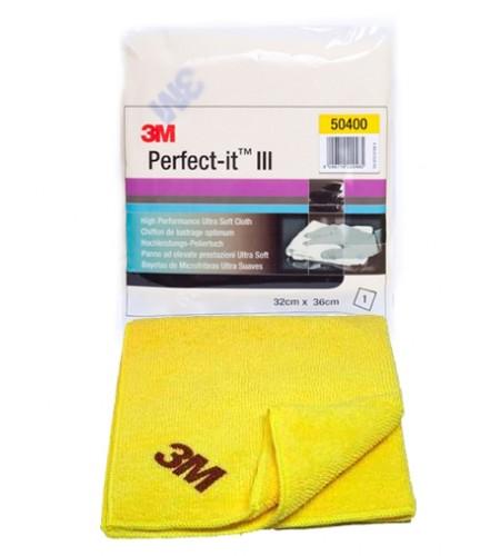 50400 Желтая полировальная салфетка в индивидуальной упаковке