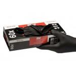 536004 Перчатки нитриловые черные Colad Extra  (30 пар) XL
