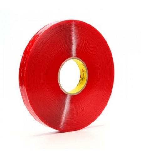 4905F Лента монтажная двусторонн., основа - вспененный акрил., адгезив - VHB, цвет - прозрачный 6мм Х 66м Х0,5мм