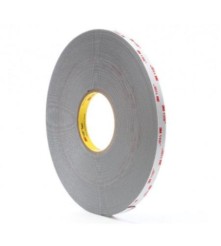 4941F Лента монтажная двусторонн., основа - вспененный акрил., адгезив - VHB, цвет - серый 13мм Х 32,9м Х 1,1мм