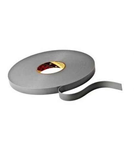 4943F Лента монтажная двусторонн., основа - вспененный акрил., адгезив - VHB, цвет - серый 6мм Х 33м Х 1,1мм