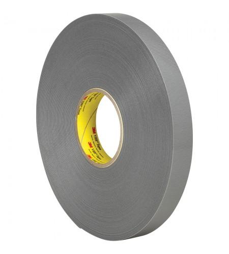 4943F Лента монтажная двусторонн., основа - вспененный акрил., адгезив - VHB, цвет - серый 12мм Х 33м Х 1,1мм