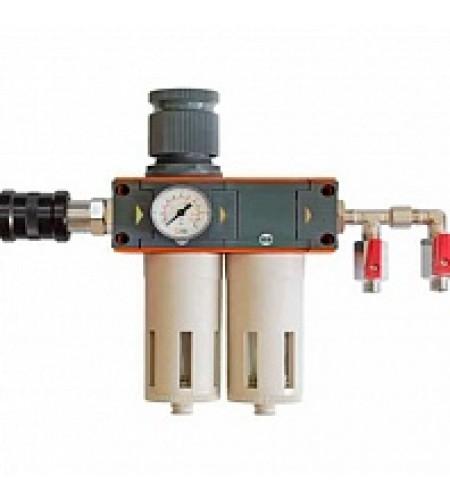 DVFR-2 Влагомаслоотделитель двуступенчатый, 1415 л/мин, 3 возд крана