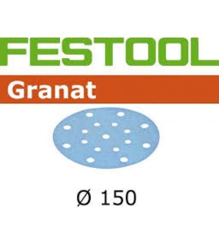 496977 Мат.шлиф. Granat P 80, компл. из 50 шт. STF D150/16 P 80 GR 50X