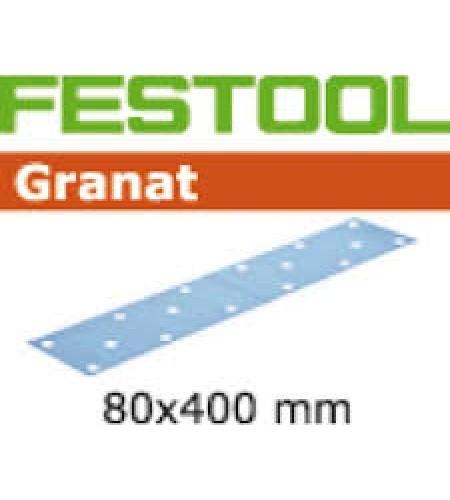 497163 Мат.шлиф. Granat P 240, компл. из 50 шт. STF 80x400 P 240 GR 50X