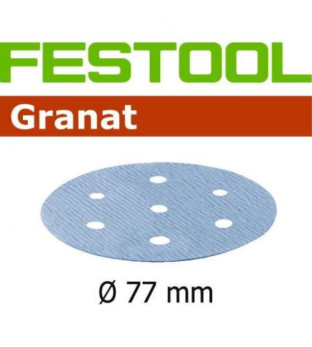 498932 Мат.шлиф. Granat P 1500, компл. из 50 шт. STF D77/6 P 1500 GR 50X