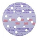 51158 Круг 260L Purple абразивный, полировал., 15 отверст., Р1200, 150мм