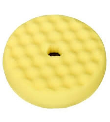 50879 Полировальник двусторонний Quick Connect, желтый, 150мм