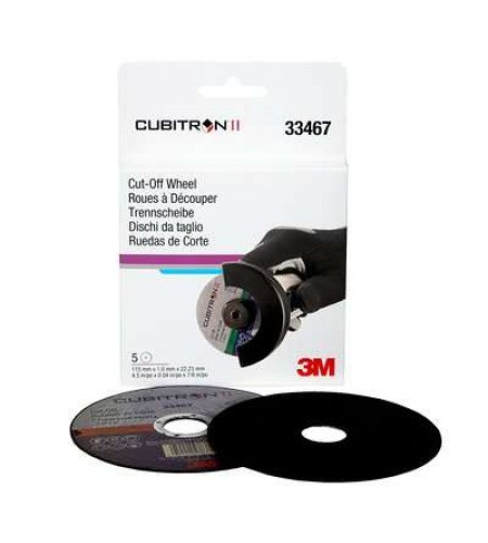 33467 Отрезной диск  Cubitron™ II,  115 x1 x22,23mm