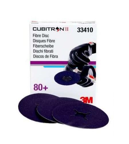 33410 Фибровый  круг  Cubitron™ II,  786C  абразивный, 115x22mm, 80+