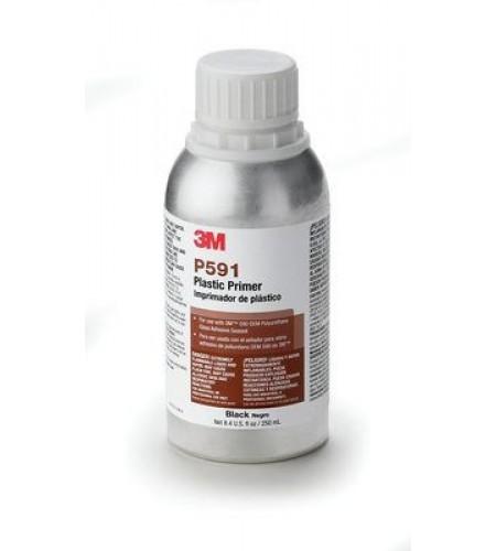 P591 Праймер для пластиков и стекла, 1л (черный)