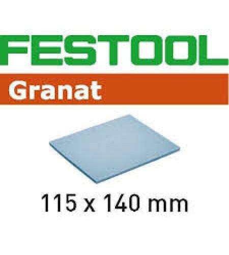201102 Губка.шлиф. Granat 1500, компл. из 20 шт.  115x140x5 MF 1500GR/20