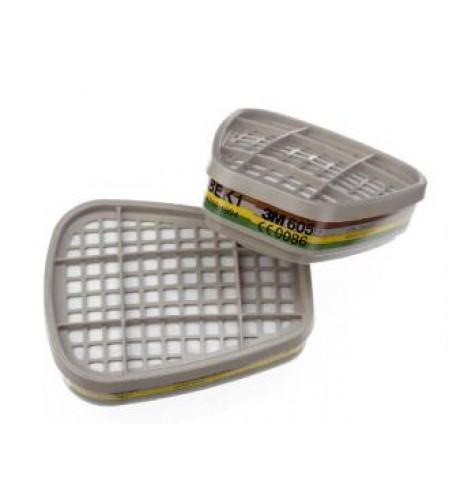 6059 Патрон/Фильтр  от органических веществ, неорганических, кислых газов, аммиака ABEK
