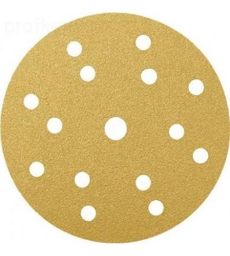 553603 Абразивный круг  RADEX Gold Ø150мм 15 отв.   Р80  (100 шт.)