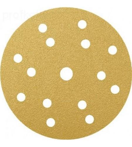 553614  Абразивный круг  RADEX Gold Ø150мм 15 отв.   Р500  (100 шт.)